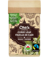 Cha's Organics Curry Leaf Whole