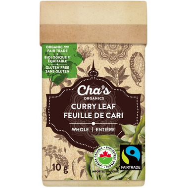Cha\'s Organics Curry Leaf Whole