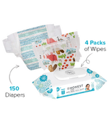 The Honest Company Into the Wild & Tribal Diapers & Wipes Bundle Size 5