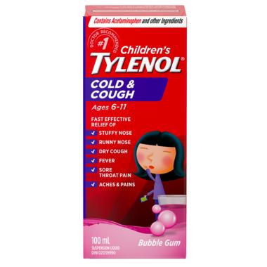 Tylenol Children\'s Cold & Cough Suspension Liquid