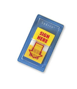 Sparco Sign Here Printed Message Flag
