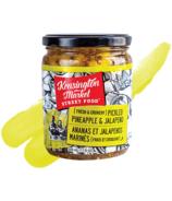 Kensington Market Street Food Fresh & Crunchy Pickled Pineapple & Jalapeno