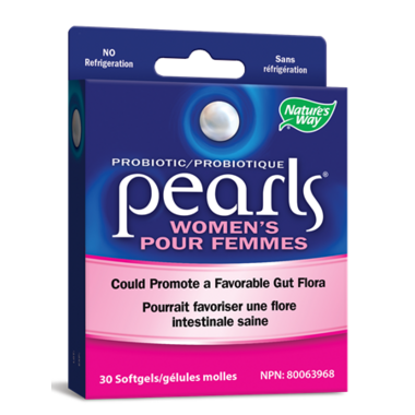 Nature\'s Way Pearls Women\'s 1 Billion CFU Probiotic