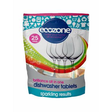 Ecozone Brilliance Dishwasher Tablets