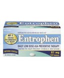Entrophen 81mg Daily Low Dose ASA Preventative Therapy