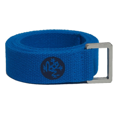 Manduka 6\' UnfoLD 2.0 Yoga Strap Truth Blue