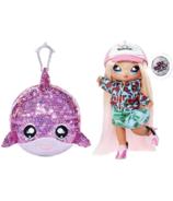 Na! Na! Na! Surprise 2-in-1 Pom Doll Krysta Splash