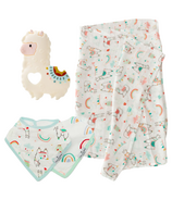 Loulou Lollipop Llama Teething Baby Bundle