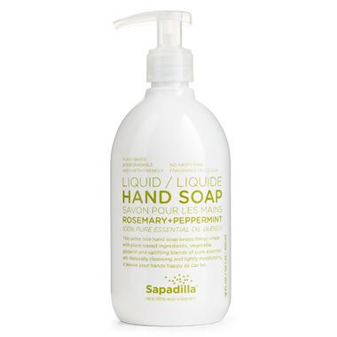 Sapadilla Rosemary + Peppermint Liquid Hand Soap