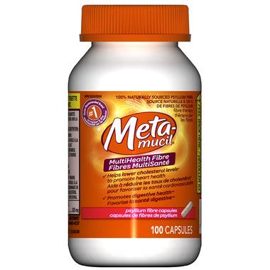 Metamucil Multihealth Fiber Capsules