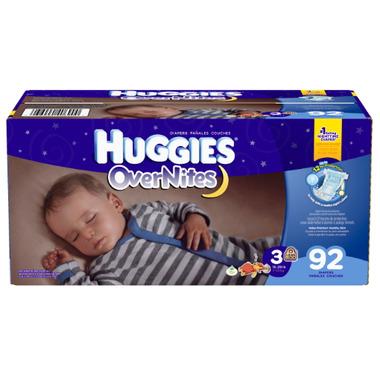 Huggies OverNites Giga Pack Diapers