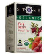 Stash Organic Very Berry Herbal Tea