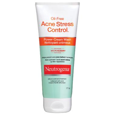 Neutrogena Oil Free Acne Stress Control Power Cream Wash