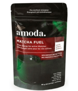 Amoda Matcha Fuel Pre-Workout Energizer with Cordyceps and Pine Pollen