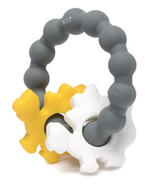 Chewbeads Central Park Teether Stormy Grey Dinosaurs