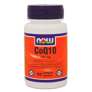 NOW Foods CoQ10 with Vitamin E