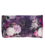 Halfmoon Lavender Silk Eye Pillow Violet Aura Night Bloom