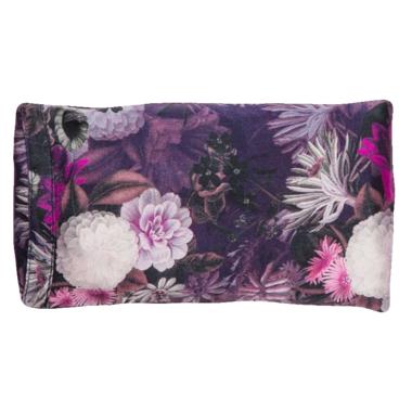 Halfmoon Lavender Silk Eye Pillow Violet Aura Night Bloom