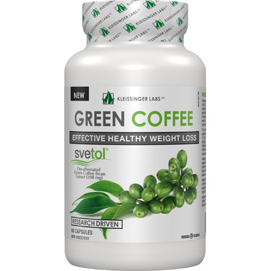 Kleissinger Labs Svetol Raw Green Coffee Bean Extract