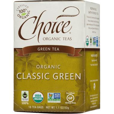 Choice Organic Teas Classic Green Tea