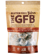 The GFB Gluten Free Bites Dark Chocolate Coconut
