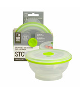 To-Go Ware Stow & Go Collapsible Container Medium Green