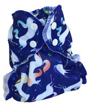 AppleCheeks Diaper Cover Unicornucopia