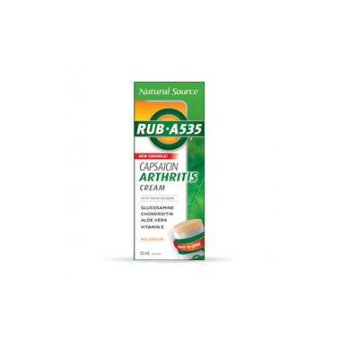 Rub A535 Natural Source Capsaicin Arthritis Cream