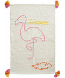 Varanassi Rug Family Collection Flamingo Bohemian