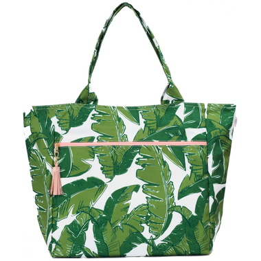 Logan and Lenora Waterproof Carryall Tote Palmtastic