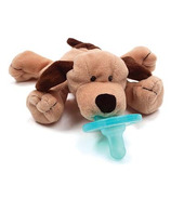 WubbaNub Brown Puppy Plush Pacifier