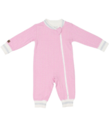 Juddlies Organic Cottage Playsuit Sunset Pink