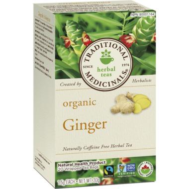Traditional Medicinals Organic Ginger Tea