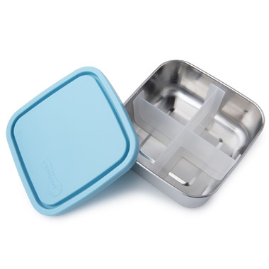 U-Konserve Divided Medium To-Go Stainless Steel Container in Sky