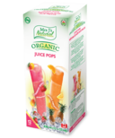 Mrs J's Natural Juice Pop Freezies Strawberry Mango & Orange Pineapple