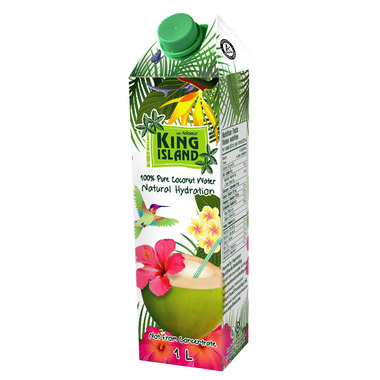 King Island 100% Pure Coconut Water