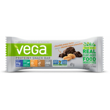 Vega Protein+ Snack Bar Chocolate Peanut Butter