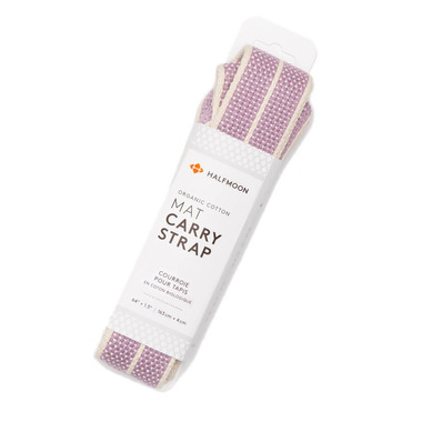 Halfmoon Mat Carry Strap Natural Lilac