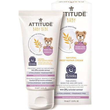 ATTITUDE Natural Deep Repair Cream for Babies