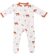 Kyte Baby Printed Zippered Footie in African