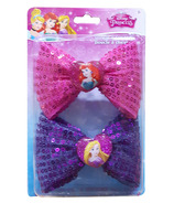 Disney Princess Hair Bows 2 Pack
