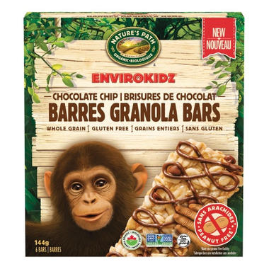 Nature\'s Path EnviroKidz Granola Bars Chocolate Chip