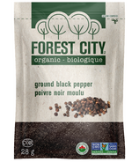 Forest City Organic Ground Black Pepper