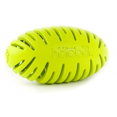 Petprojekt Small Holobal Football Dog Toy in Green