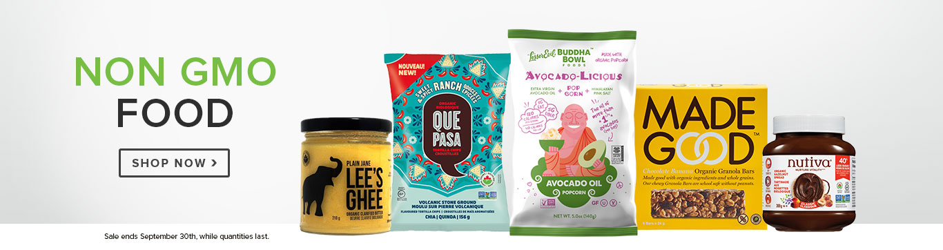 Save up to 20% off Non GMO Food
