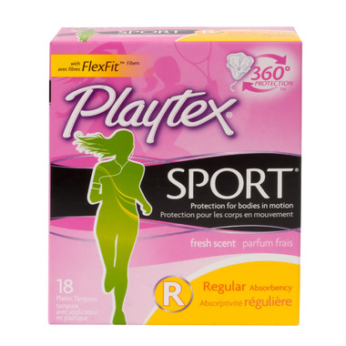 Playtex Sport Tampons Scented