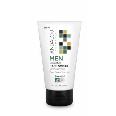 ANDALOU naturals MEN Exfoliating Face Scrub