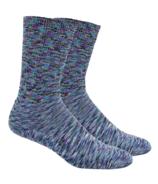 Dr. Segal's Diabetic Socks Purple Space Dyed
