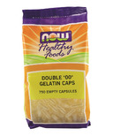 NOW Foods Double 00 Gelatin Caps