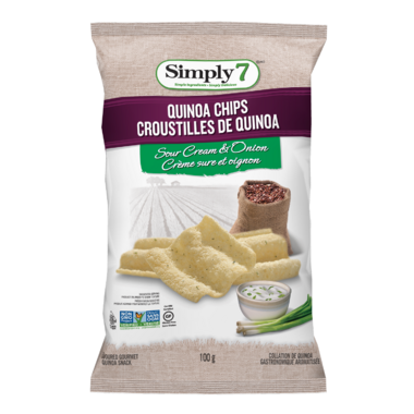 Simply 7 Quinoa Chips Sour Cream & Onion